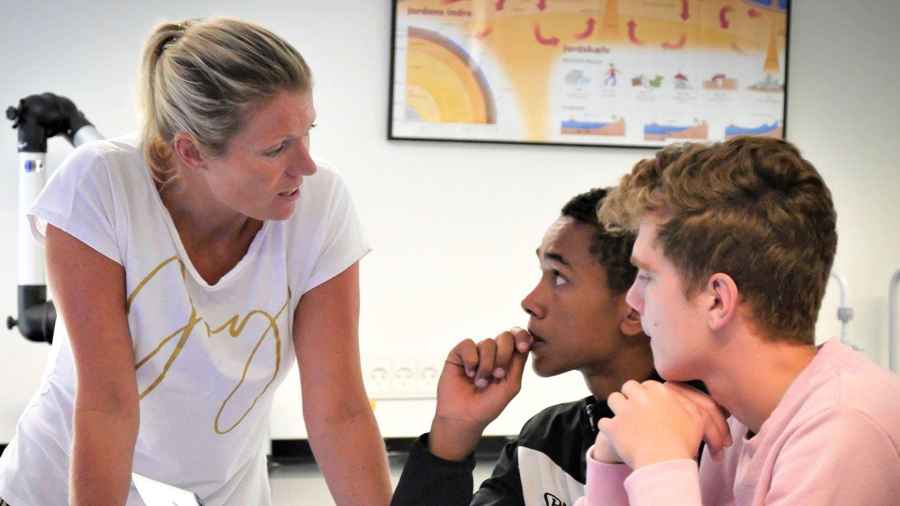 Er du vores nye dansk-/tysklærer?