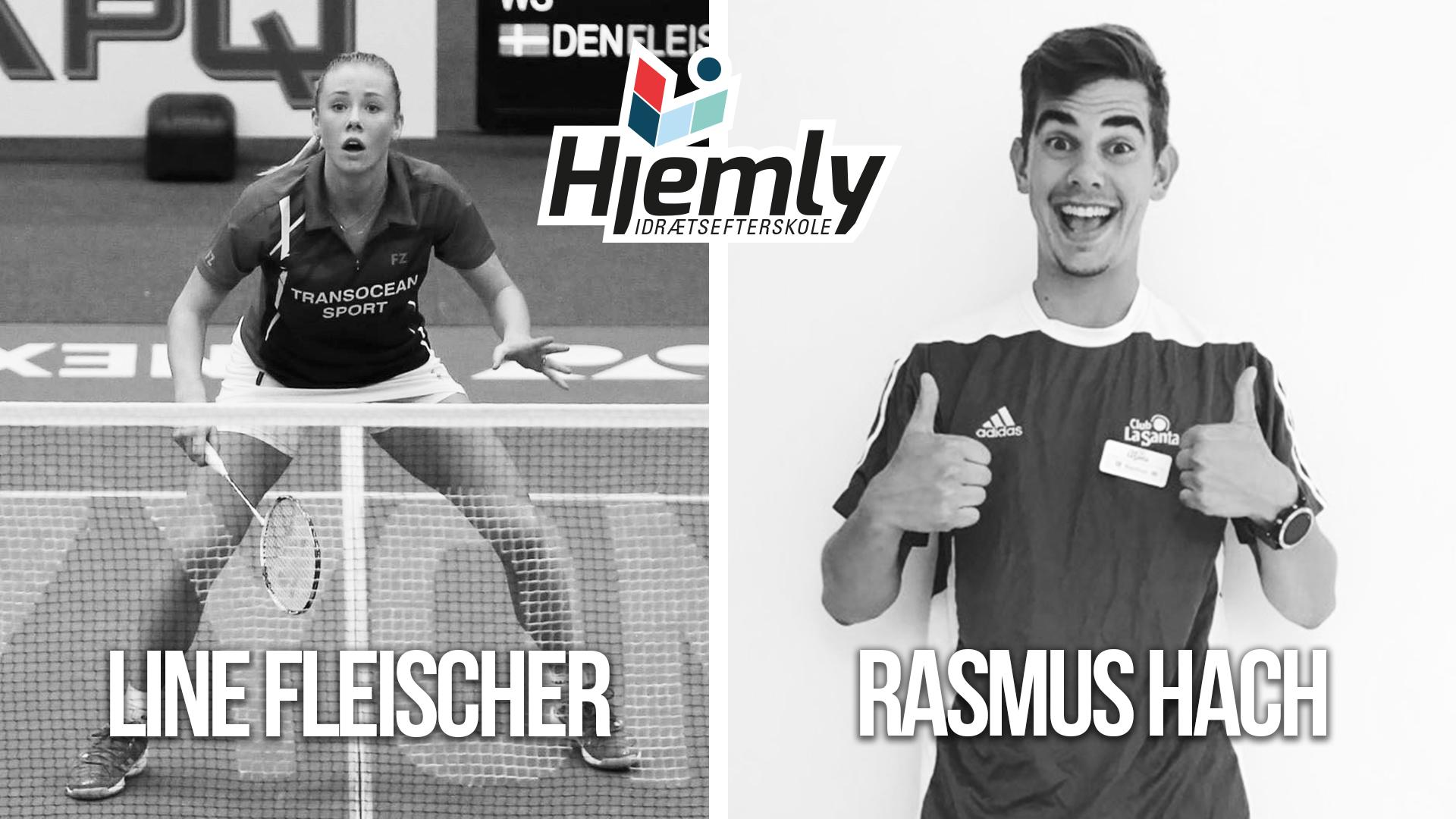 Line og Rasmus gæster årets I'm A Winner Camp