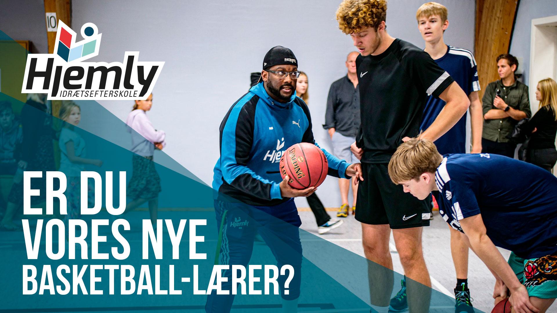 JOBOPSLAG: Vi søger timelærer til vores basketball-linje